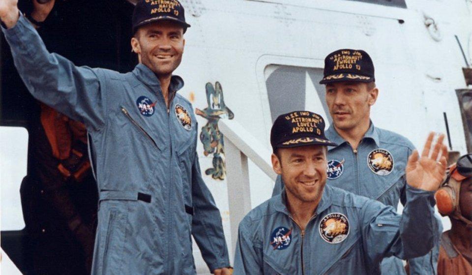 L'equipaggio di Apollo 13