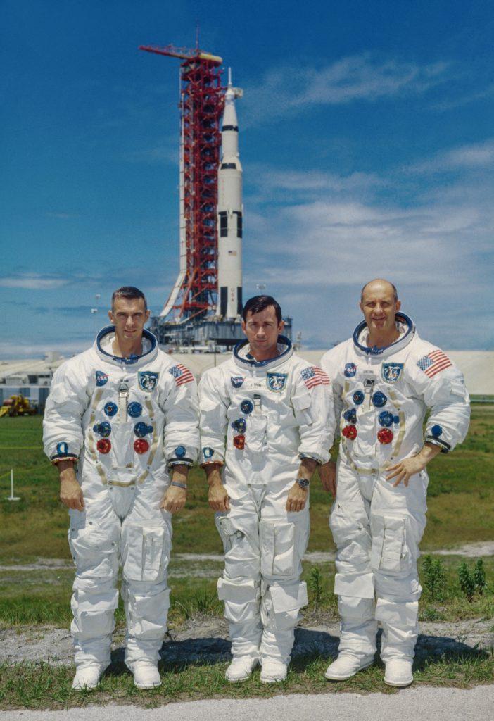 John Young e l'equipaggio di Apollo 10