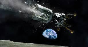 Rappresentazione artistica delle condizioni di Apollo 13