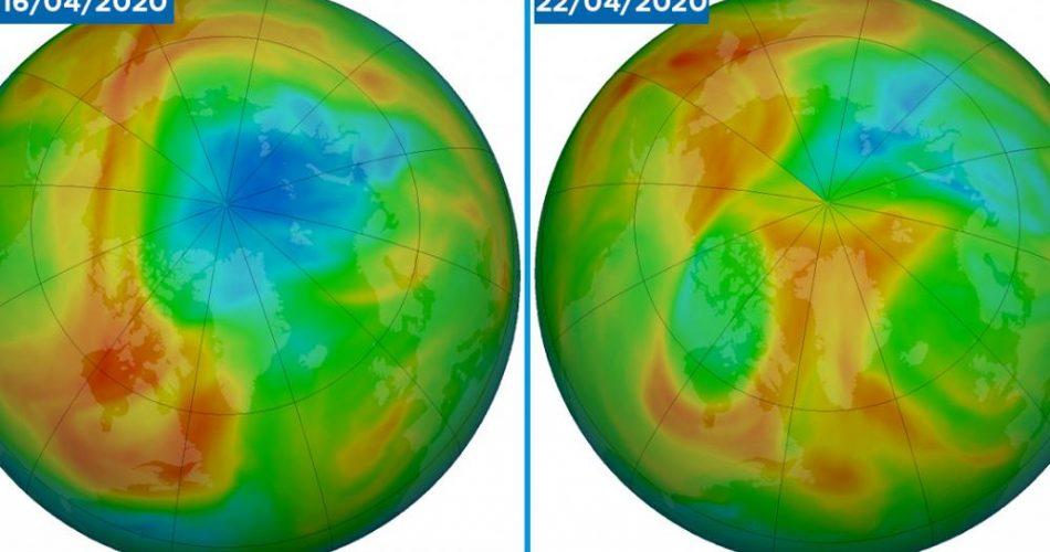 Buco dell'ozono, Artide