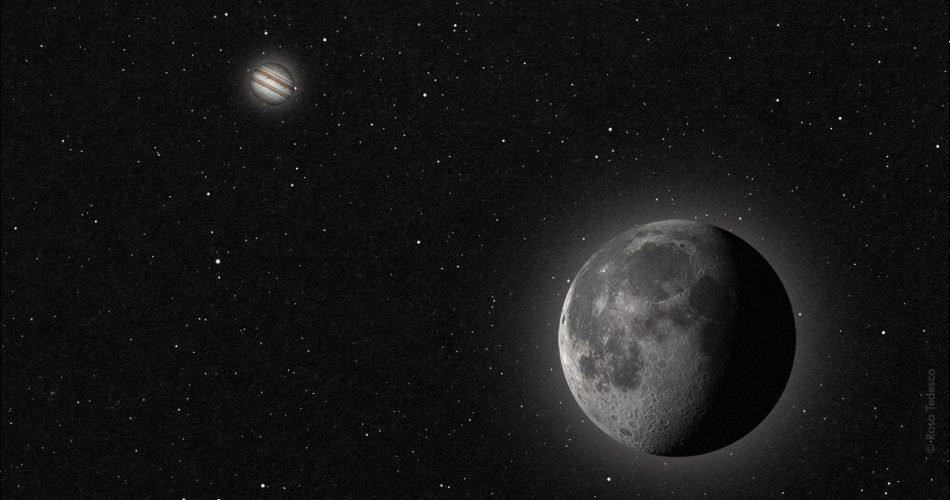 Luna,Giove