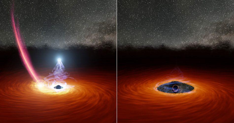 Buco nero e stella