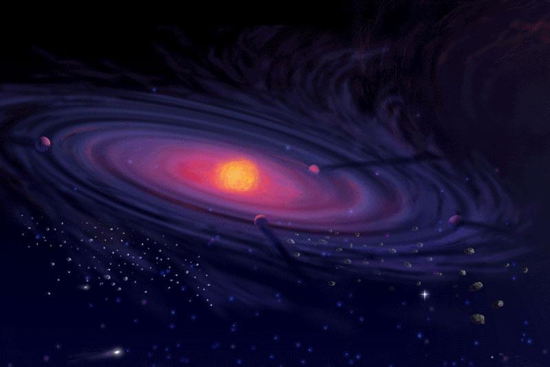 Protoplanetario disco