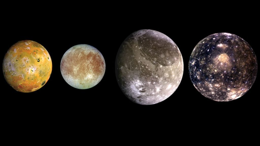 Lune di Giove