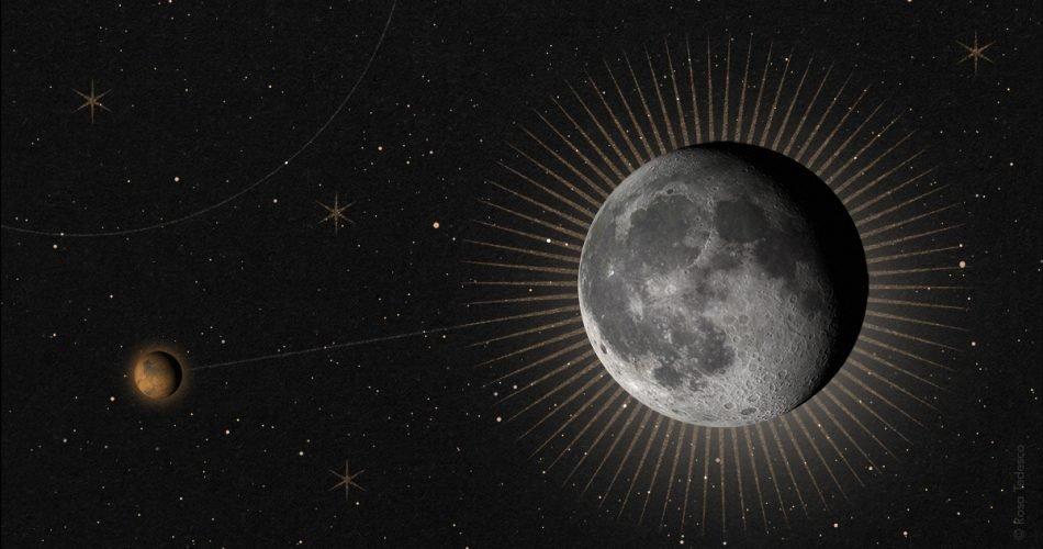 Luna e Marte