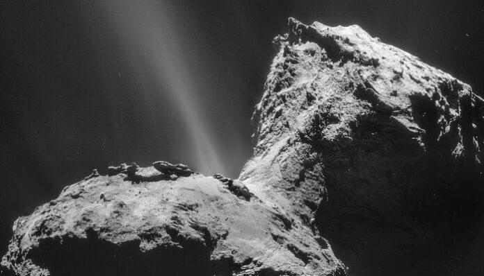 Cometa, aurora