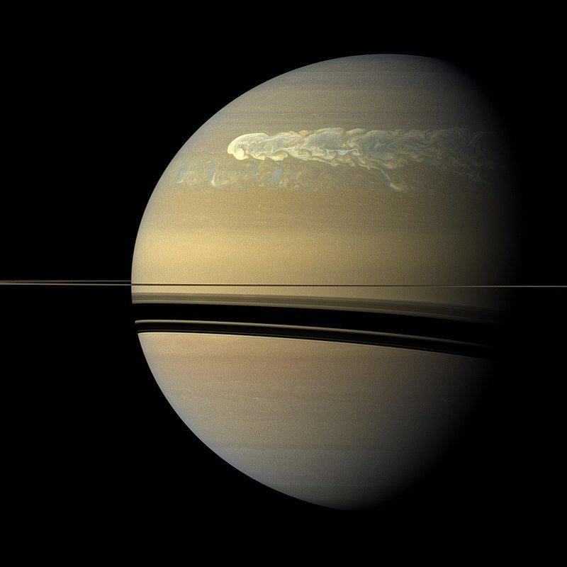 Atmosfera Saturno