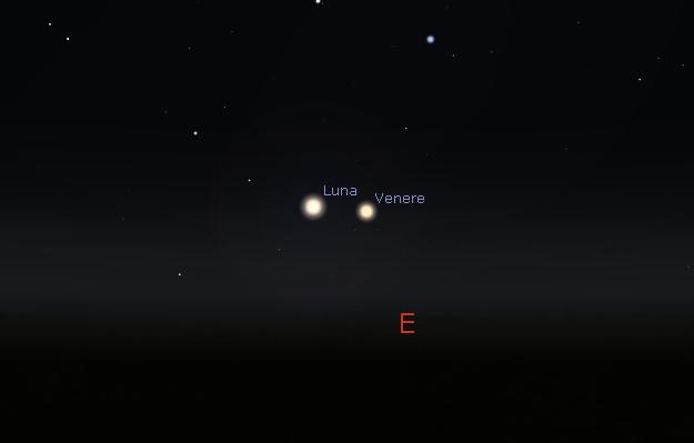 Luna,Venere