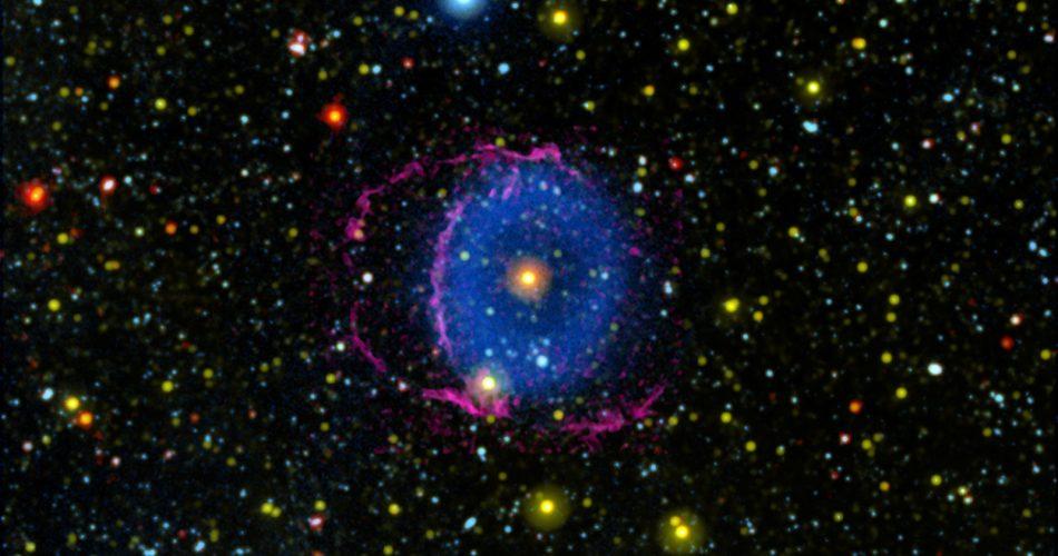 Nebulosa Anello Blu