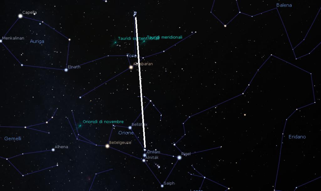 Come individuare le Pleiadi