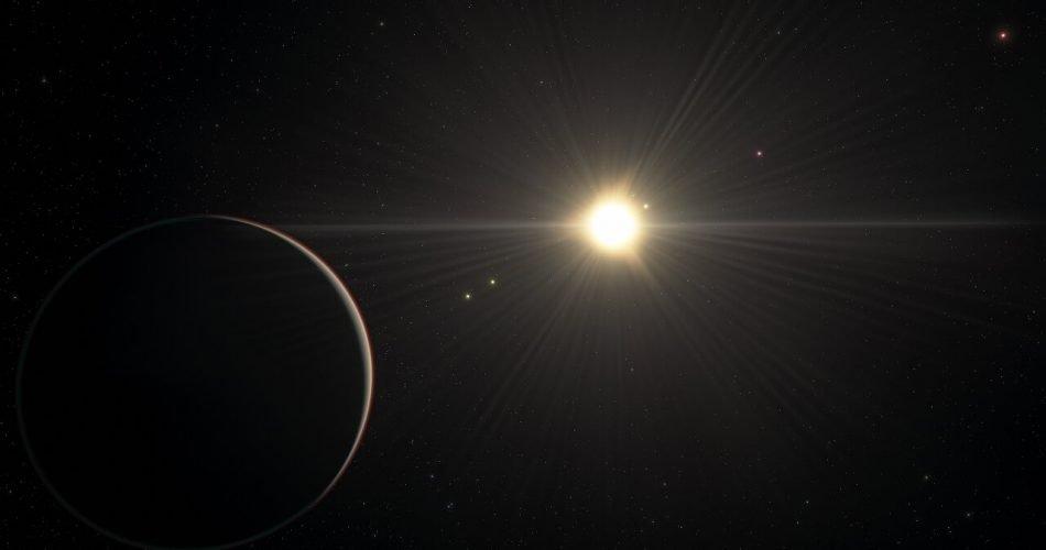 Rappresentazione artistica del sistema planetario TOI-178