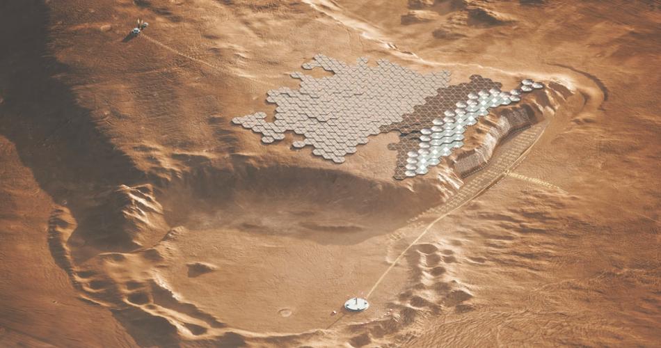 Nüwa, la prima città autosufficiente su Marte