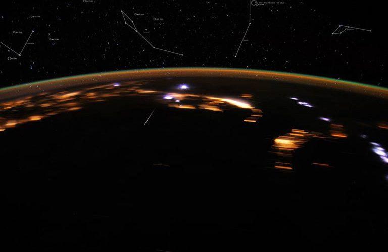 Le Liridi riprese dallo spazio