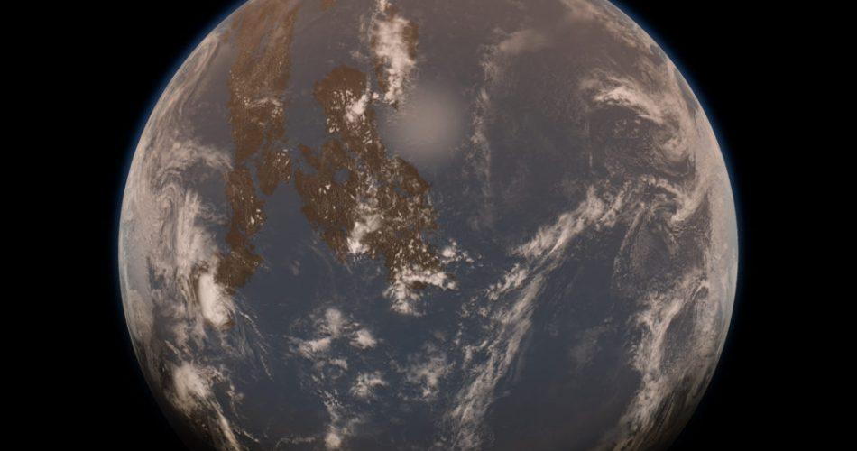 Una rappresentazione artistica della Terra
