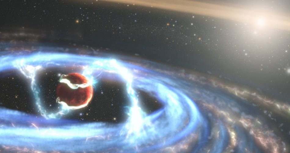 Come si forma un pianeta gigante