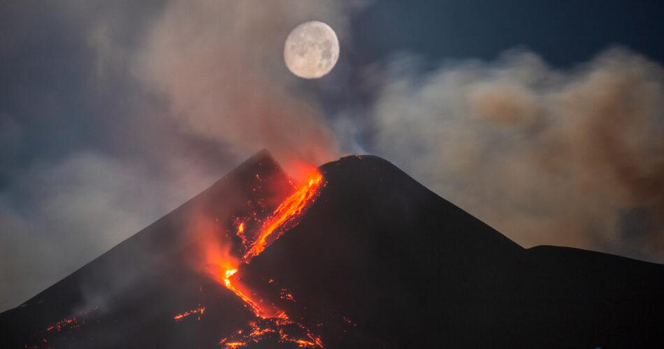 Luna ed Etna